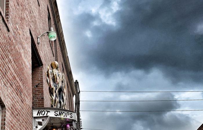 Hot Shops Art Center building